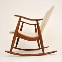 1960's Dutch Rocking Chair by Louis Van Teeffelen (2 of 10)