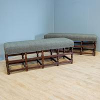 Pair of Oak Benches (6 of 7)