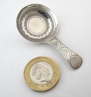 Rare Pristine George III Silver Caddy Spoon John Lawrence & Co Birmingham 1810 (5 of 6)