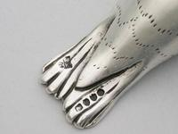 Victorian Novelty Silver Seal Pepperette by Charles & Charles Asprey, London, 1882 (9 of 14)