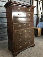 Georgian Chest on Chest with Beautiful Brass Drawer Handles (5 of 5)