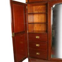 Edwardian Three Door Wardrobe (7 of 8)