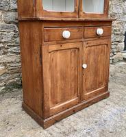 Small Antique Pine Glazed Dresser (5 of 18)