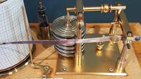 Antique Polished Oak Armstrong of Manchester Barograph (3 of 6)