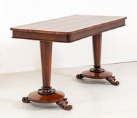 William IV Rosewood Stretcher Table (3 of 7)