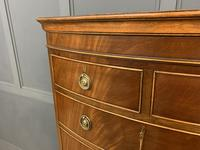 Flame Mahogany Bow Fronted Chest on Chest (4 of 14)