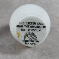 Unusual, W.H. Goss Crested Ware, Heraldic, Souvenir China, Misspelt  Place  NameVase (3 of 6)