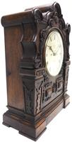 Antique English Twin Fusee Bracket Clock by Carter Cornhill London 8 Day Fusee Striking Mantel Clock (8 of 12)