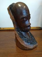 Husband & Wife Tribal Art Carving (2 of 12)