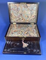 Victorian Rosewood Gentlemen's Vaniety Box (4 of 13)