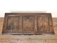 18th Century Oak Coffer with Inlay (2 of 13)