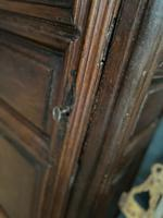 Lovely French Single Door Armoire or Hall Cupboard (4 of 7)