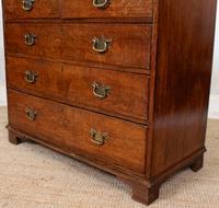 Georgian Oak Chest of Drawers 18th Century (8 of 12)