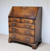 Vintage Oak Bureau (2 of 10)