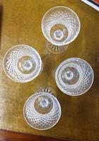 Set of Four Large Waterford Wine Goblets (5 of 8)