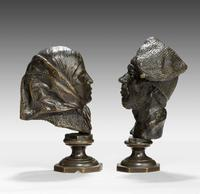 Pair of Mid 19th Century French Desk Bronzes (2 of 5)