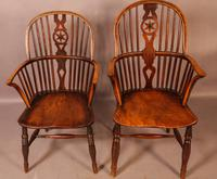 Set of 6 Kitchen Windsor Chairs Ash & Elm Thames Valley (6 of 21)