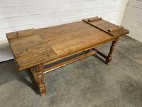 Oak Farmhouse Dining Table with Extensions (10 of 18)