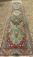 Antique Bakhtiari Carpet Runner (3 of 8)