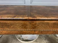 Victorian Burr Walnut Glazed Side Cabinet (11 of 15)