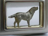 Early 20th Century Parcel Gilt Silver Table Vesta Case with Internal Cast Silver Spaniel by Goldsmiths & Silversmiths, London, 1912 (17 of 20)