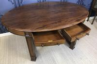 Edwardian Mahogany Writing Table (7 of 9)