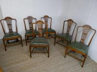 Set of Six Georgian Chairs