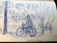 Original Sketchbook of Pencil Drawings, Pen Drawings and Watercolours by Helmut Petzsch - 1987-1989 (6 of 19)