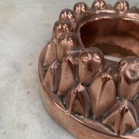 Antique Victorian Copper Jelly Pudding Ring Mould (3 of 10)