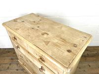 Antique Pine Chest of Drawers on Plinth Base (7 of 9)