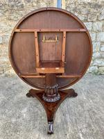 Exceptional Quality Regency Flame Mahogany Centre Table (7 of 10)