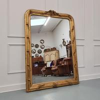 Antique French Gilded Flower Mirror (7 of 8)