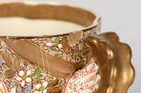 Zsolnay Pecs Hungarian Hand Painted Floral Cabinet Cup & Saucer c.1890 (6 of 16)