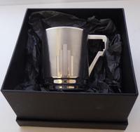 Art Deco 1932 Hallmarked Solid Silver Christening Mug Tankard Mint Condition (9 of 9)