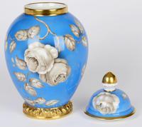 Rosenthal German Porcelain Lidded Jar & Cover with En Grisaille Roses Decoration c.1935 (11 of 15)
