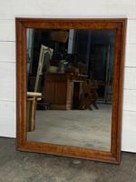 19th Century French Burr Walnut Wall Mirror (2 of 19)