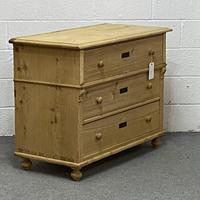 Large Old Pine Chest Of Drawers (2 of 4)