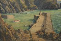 Mullion Cove-Cornwall by Leonard G Kersley (3 of 7)