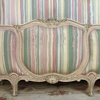French Pair of Demi Lune Corbeille Single Bed Frames (11 of 11)