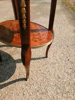 French Parquetry Occasional / Lamp Table (6 of 9)