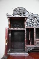 Carved Japanese Meiji Desk (10 of 12)