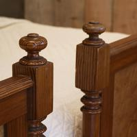 Art Nouveau Matching Pair of Twin Single French Beds (6 of 10)