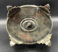 Fabulous Quality 19thc Victorian Silver Plated Cruet Set Inc 5 Cut Glass Bottles (8 of 12)