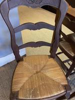 Set of Six Oak Chairs (6 of 6)