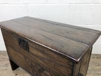 Small 18th Century Joined Oak Coffer (14 of 18)