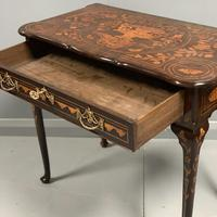 Rare 18th Century Dutch Marquetry Writing Table (9 of 13)