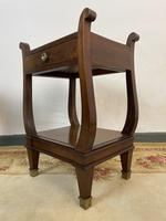 Vintage French Mahogany Bedside Tables (12 of 14)