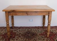 Antique Pine Table with Turned Legs (10 of 11)