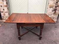 Antique Oak Extending Dining Table (2 of 10)
