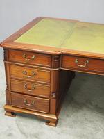 Georgian Style Mahogany Partners Desk (6 of 11)